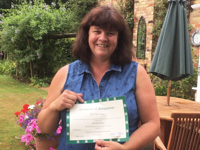 Jan Messinger's Mayor's Community Award